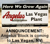 Angelus Block announces new plant coming to Las Vegas, Nevada
